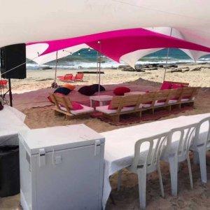 אוהל לייקרה להשכרה 4×4
