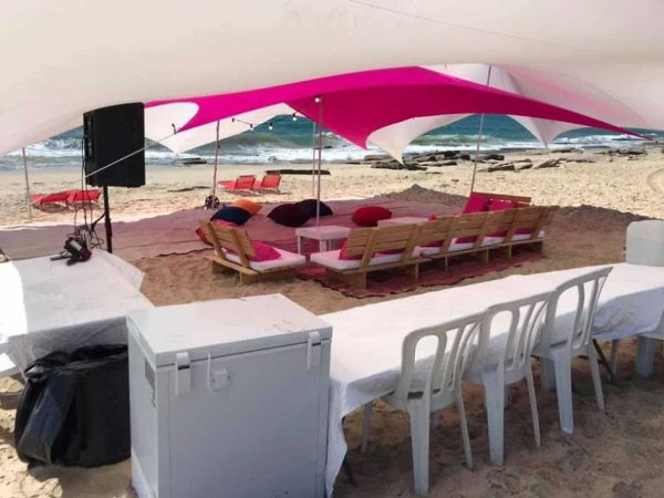 אוהל לייקרה 10X10 להשכרה