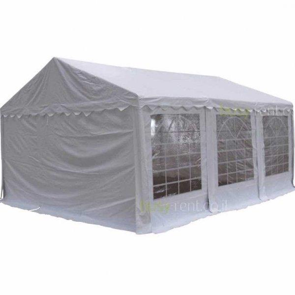 אוהל 6 על 4 לבן השכרת ציוד לאירועים
