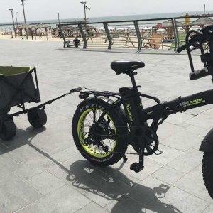 אופניים + עגלה