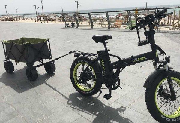 השכרת ציוד- אופניים ועגלה