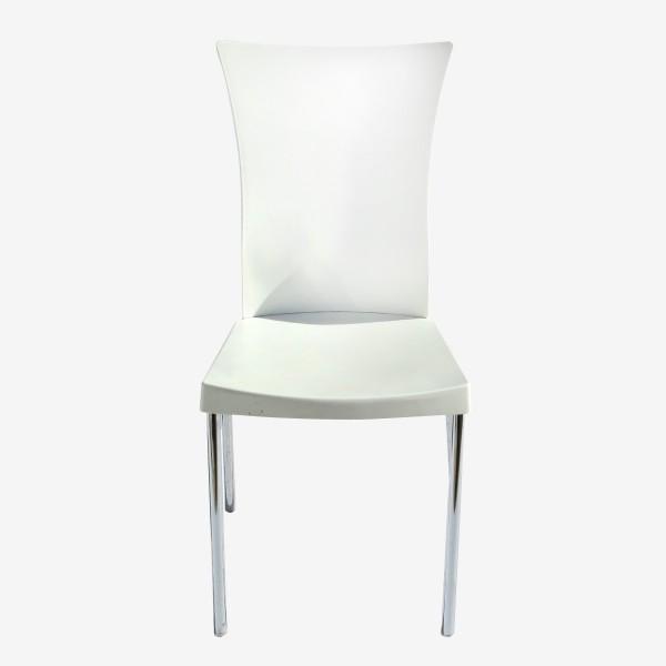 כיסא לבן מהודר להשכרה