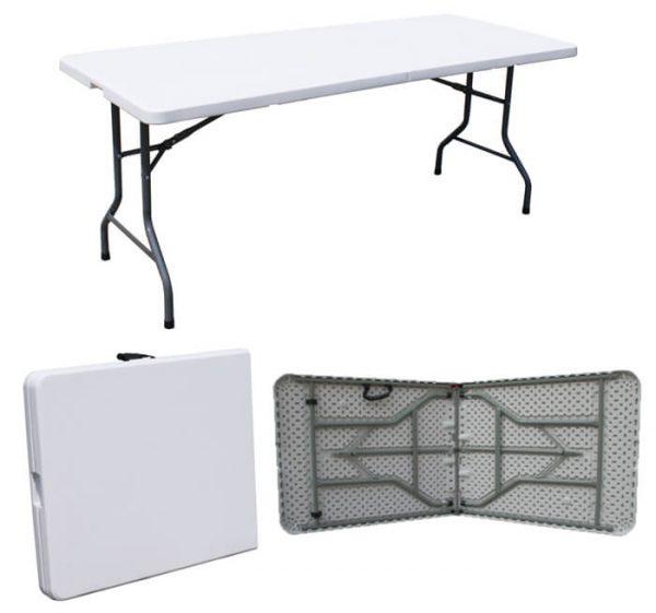 שולחן פלטיק מתקפל