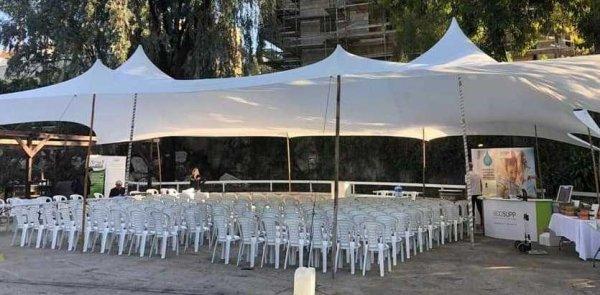 אוהל לייקרה 10X14 להשכרה